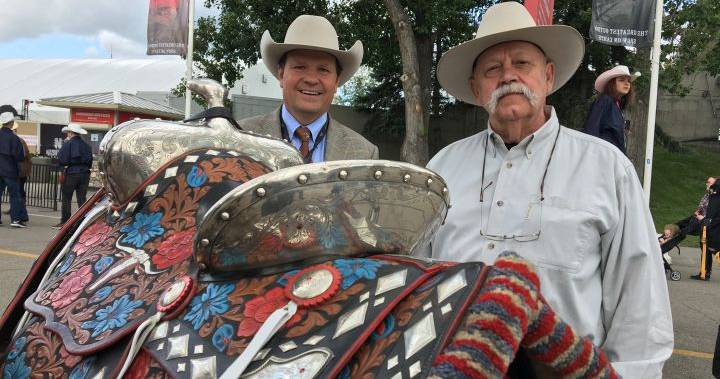 Calgary Stampede Restores Historic President S Saddle